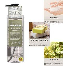 Mellsavon 石油系0% 植物精華沐浴露 草本綠