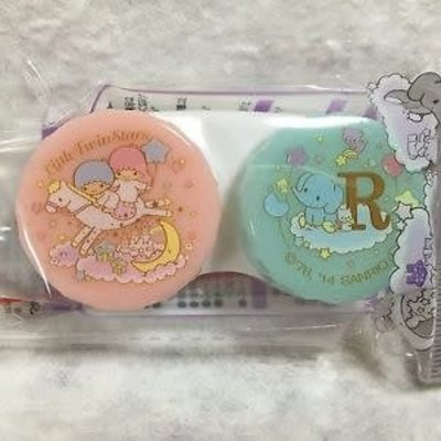Sanrio 三麗鷗雙子星 隱形眼鏡盒
