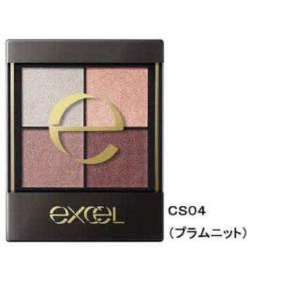 Sana Excel 四色眼影 CS04