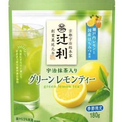 辻利 檸檬綠茶 180g