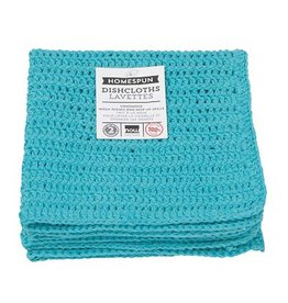 Now Designs Homespun Dishcloth s/2  Bali Blue