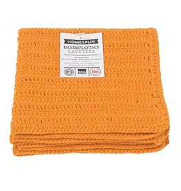 Now Designs Homespun Dishcloth s/2 Kumquat