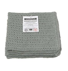 Now Designs Homespun Dishcloth s/2 London Gray