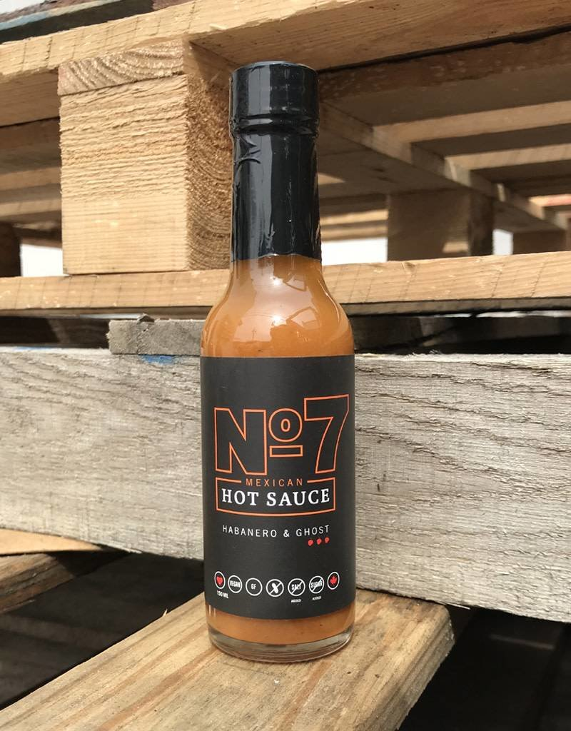86399 No 7 Hot Sauce Habenero & Ghost