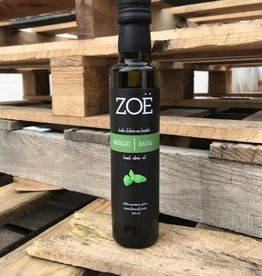 Zoe Infused Extra Virgin Olive Oil 250 ml Basil
