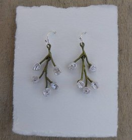 Michael Michaud Design Baby's Breath Spray Wire Earrings