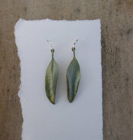 Michael Michaud Design Mountain Eucalyptus Bronze Earrings