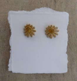 Michael Michaud Design Deco Daisy Stud Post Earrings