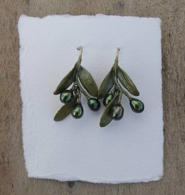Michael Michaud Design MMD 4781BZOP Olive Wire Earrings