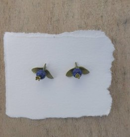 Michael Michaud Design Blueberry Stud Earrings