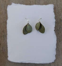 Michael Michaud Design Irish Thorn Double Leaf Earrings