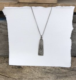 Dana Henning Jewellery Refurbished Silver Necklace and Pendant