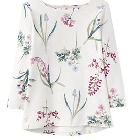 Joules Joules Harbour Print Cream Botanical