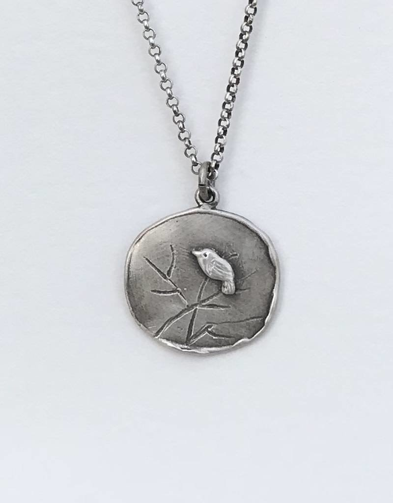 Dana Henning Jewellery RN138B Refurbished Silver Necklace and Pendant
