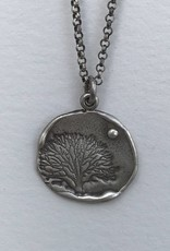 Dana Henning Jewellery RN194B Refurbished Silver Necklace and Pendant