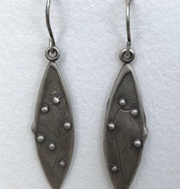 Dana Henning Jewellery Refurbished Silver Earrings
