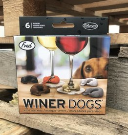 Fred Winer Dogs Wine Markers