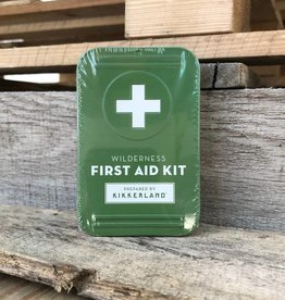 Kikkerland Wilderness First Aid Kit