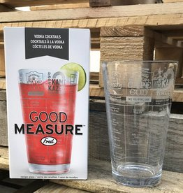 Good Measure Vodka Recipe Glass