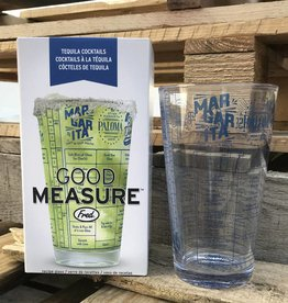 Fred Good Measure Tequila Recipe Glass