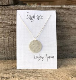 Laughing Sparrow Constellation Pendant Sagittarius