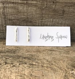 Laughing Sparrow L Sparrow 104 Silver stick studs
