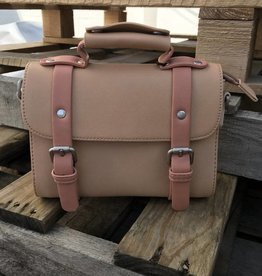 Elli Small Satchel Sand