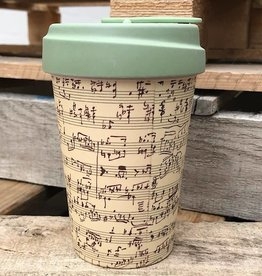 Bamboo Cup Music Notes