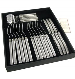 Laguiole 24 Piece Utensil  Set  S/S