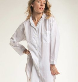 Mahogany Joni White Night Shirt