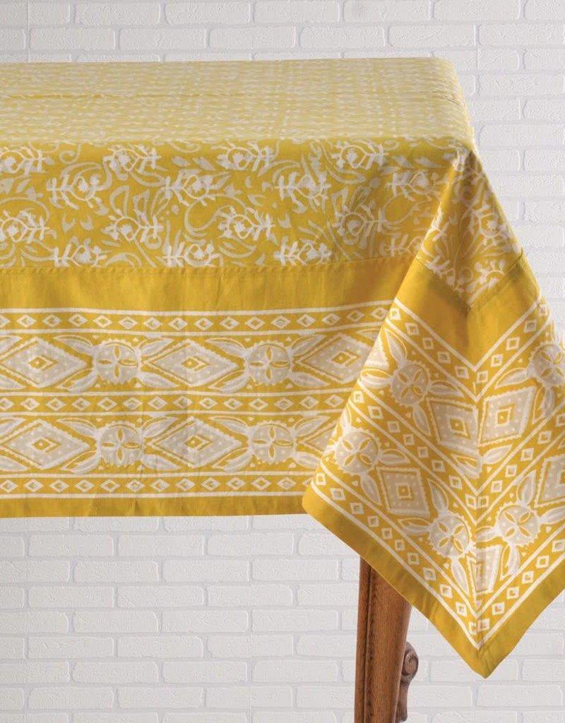 Mohagany Tablecloth Tonk Dijon 60x90