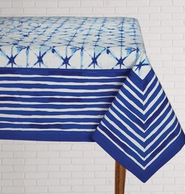 Tablecloth Shibori Indigo 60x120