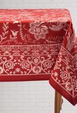 Mahogany P179T120 Tablecloth Mason Red 60x120