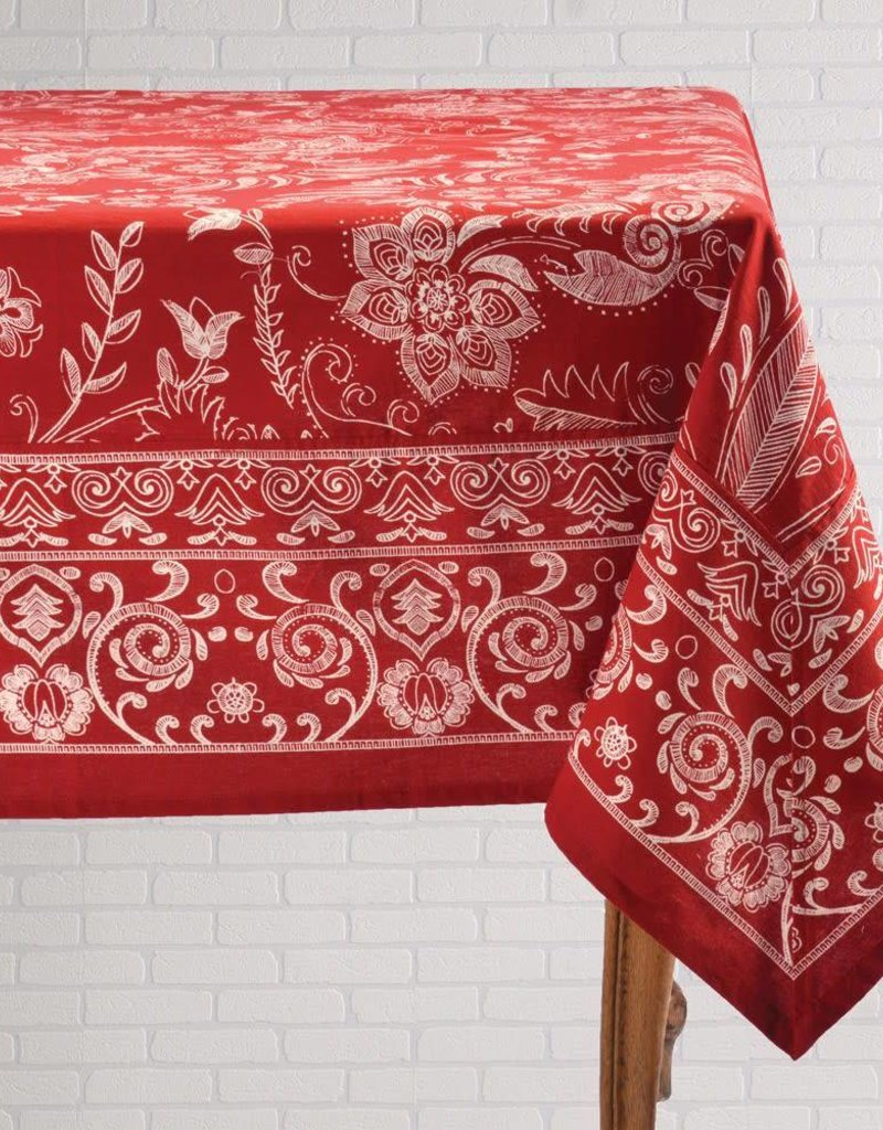 Mahogany P179T120 Tablecloth Mason Red 60x120