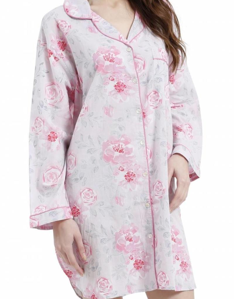 Mahogany Caitlyn Pink Night Shirt