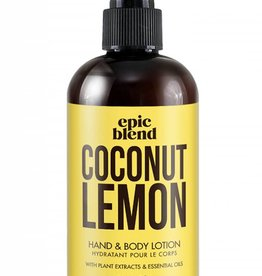 Coconut Lemon Body Lotion 8oz