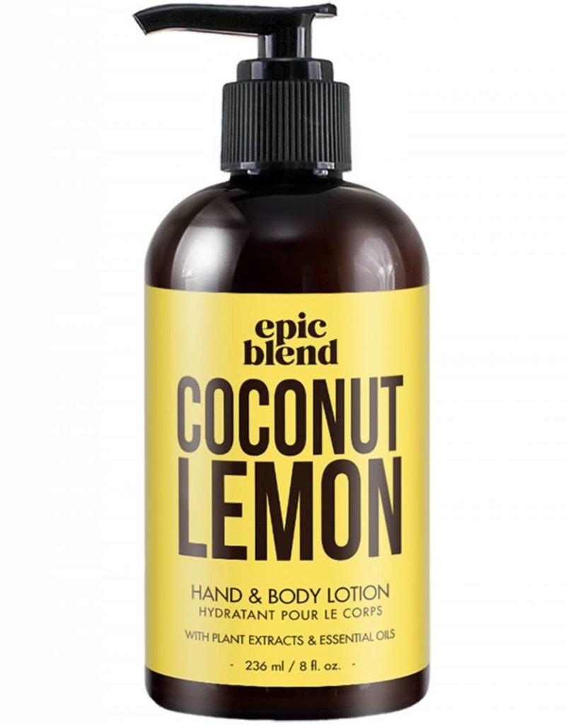Coconut Lemon Body Lotion 8oz