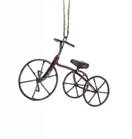 Red Tricycle Ornament