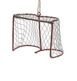 27-WINTER-7247 Goalie Net Ornament