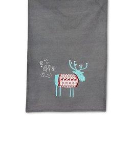 Farty Moose Tea Towel