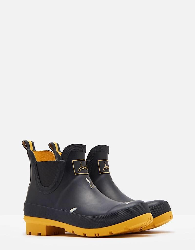 Joules Joules Wellibob Black Bot Bees