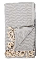 Pokoloko TTHE1 turkish towel  Herringbone Gris