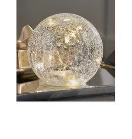 654951 Glass LED Lighted Orb