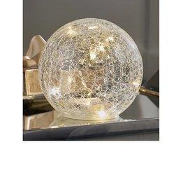 Glass LED Lighted Orb