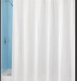 Shower Curtain Hugo White