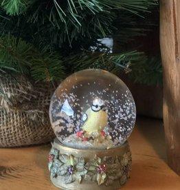 Blue Gay Bird Snow Globes