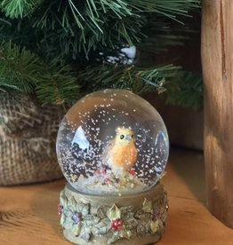 Forest Bird Snow Globes