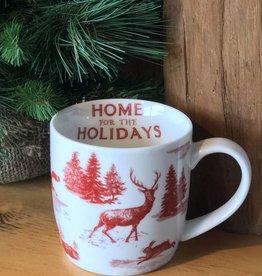 Mug in a box holiday toile