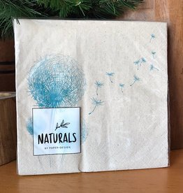 Fly Away Natural Lunch Napkin