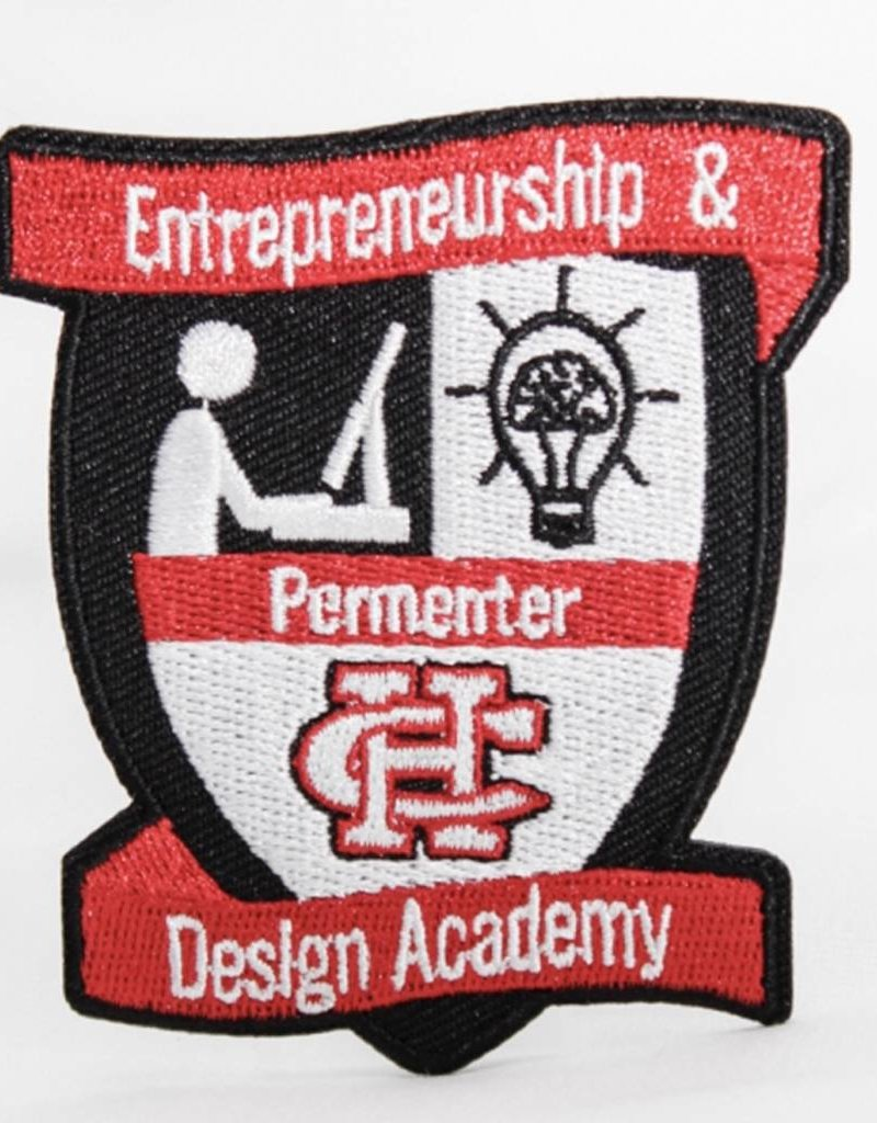 Entrepreneurship and Design Academy Patch (PMS)